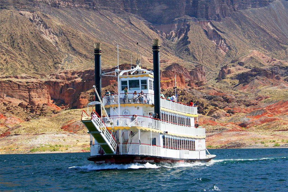 Lake Mead Cruises - Painted Pots